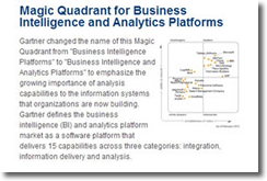 Salient Special Edition: Featuring Magic Quadrant for BI and Analytics Platforms