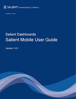 Salient Mobile User Guide